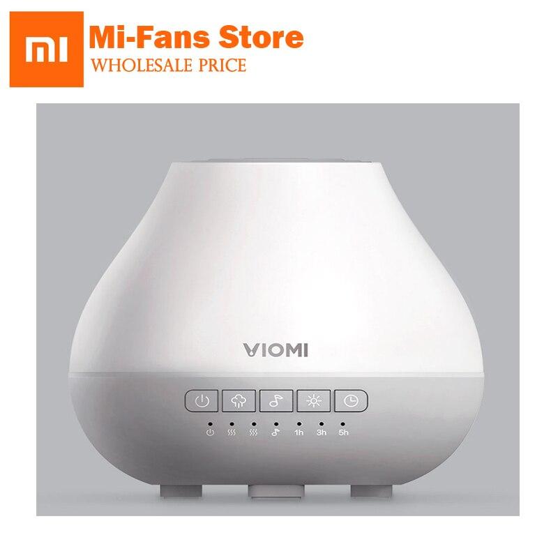 Vente chaude xiaomi Mijia Viomi Air Humidificateur Aromathérapie Machine Bluetooth led Smart App Télécommande Musique Haut-parleurs
