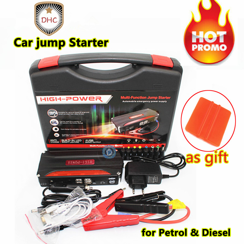 Us 15 39 5 Off Best Mini Portable Car Jump Starter High Power Starter Battery Charger Engine Booster Emergency Power Bank Car Battery In Jump