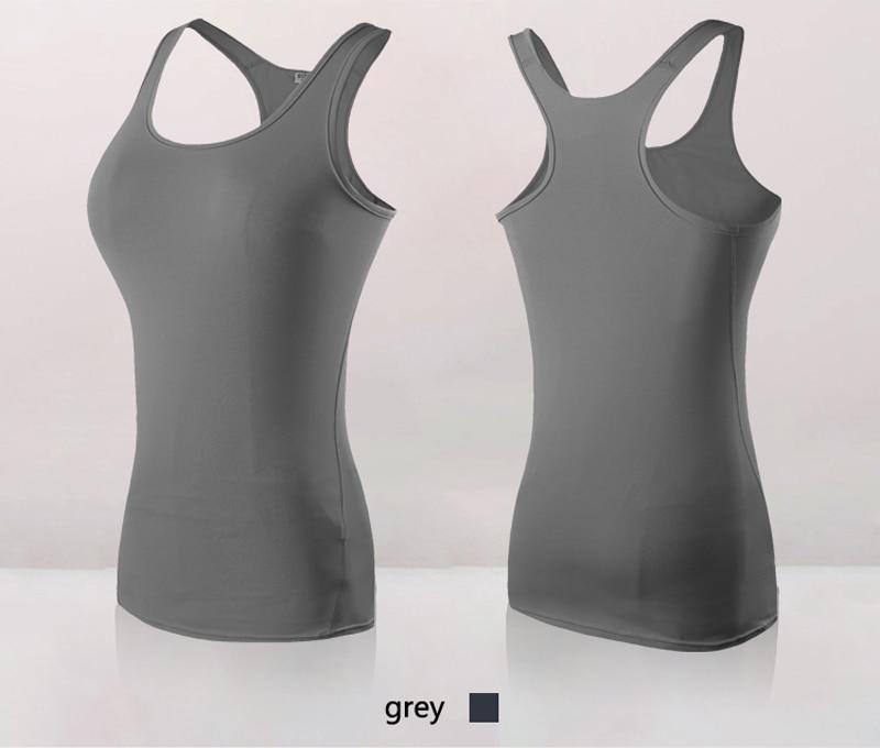 Women's Yoga Tops Sexy Gym Sportswear 25