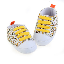 E&Bainel Toddler Kids Casual Lace-Up Baby Sneaker Soft Soled Baby Crib Shoes First Walkers 0-18M Baby Moccasins