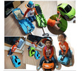 49 * 27 * 22cm  children's luggage trolley suitcase glide oversized cars Chevrolet styling schoolbag Toys