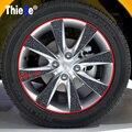 Car Sticker Wheel Tire Stickers for Nissan Qashqai X-TRAIL Juke TIIDA Note Almera March For Mazda 3 6 2 CX-5 CX5 CX-7