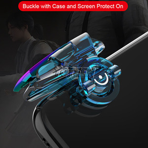 Image 4 - Yoteen Metal Trigger For PUBG Shooting Game L1 R1 Aim Fire Button Mobile Phone Joystick Controller