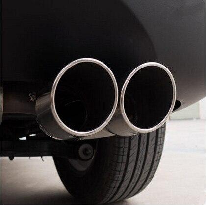 Carro-Styling tubo de Escape Pipes Da Cauda Do Carro Para Chery Tiggo Fulwin QQ A1 A3 E3 E5 G5 V7 EMGRAND EC7 EC7-RV EC8