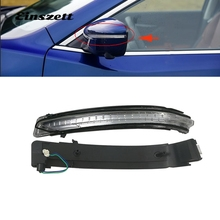 Car Rearview Mirror Side Turn Signal Repeater Flasher LED Light For Nissan X-Trail Rogue Qashqai Murano 2014-2017 LED Lamp flowing turn signal lamp rearview mirror running light for nissan x trail qashqai 2015 2018