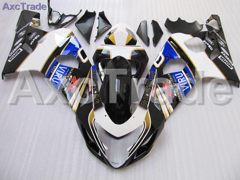 Moto Carénage Kit Pour Suzuki GSXR GSX-R 600 750 GSXR600 GSXR750 2004 2005 K4 04 05 Carénages kit Haute Qualité ABS En Plastique
