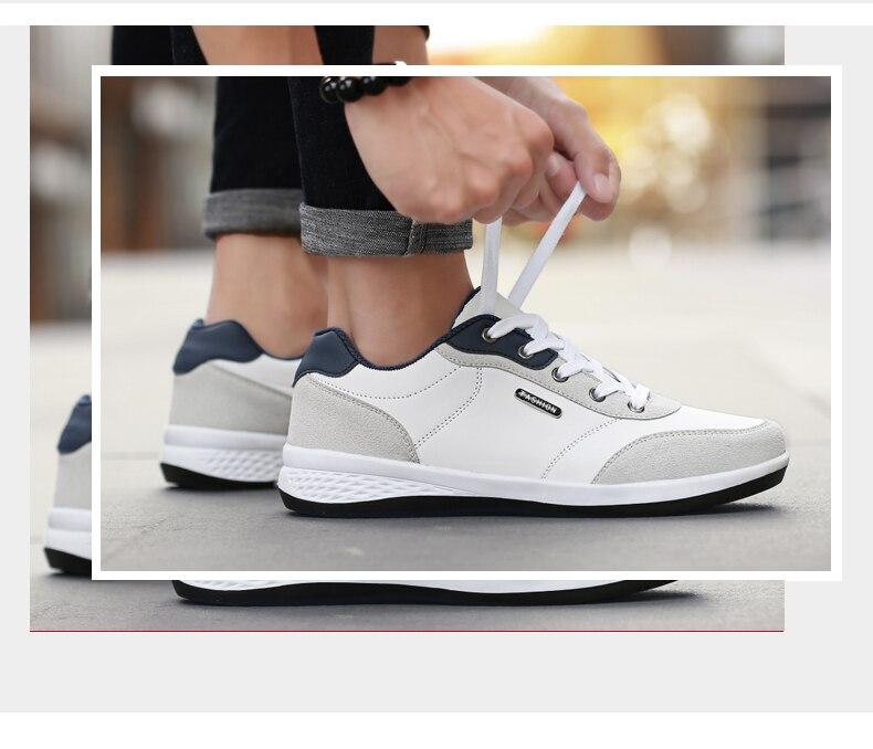 HTB1fzDJFuSSBuNjy0Flq6zBpVXaH 2019 Autumn New  Men Shoes Lace-Up Men Fashion Shoes Microfiber Leather Casual Shoes Brand Men Sneakers Winter Men FLats