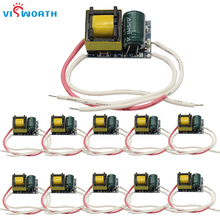 10pcs/lot 5*1W led driver 5W driver 5W lamp driver LED Transformer 85-265V input for E27 GU10 E14 high quality free shipping free shipping 10pcs bl34119g audio driver chip