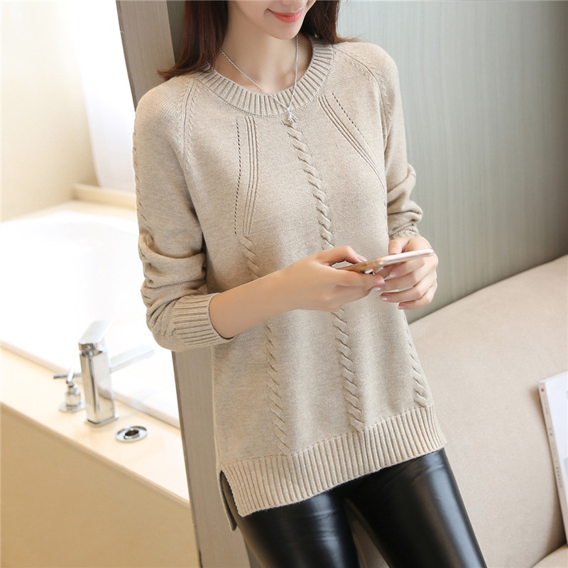 Cheap Wholesale 2018 New Summer Hot Selling Women's Fashion Casual Warm Nice Sweater L256