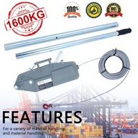 Telescopic Handle For Pulling Machine 1600KG Manual Hoist Rod Q235 Pulling Hoist Hand Lever Lifting Tools Accessories