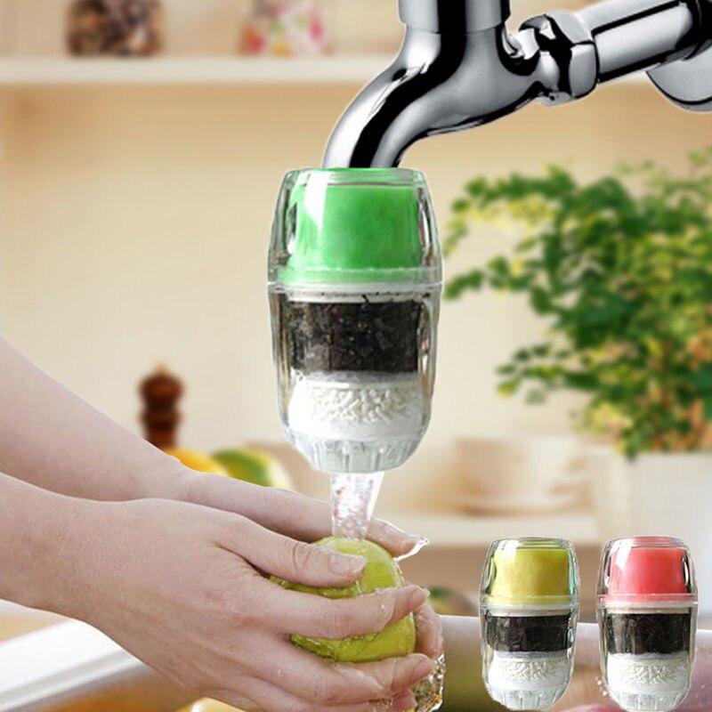 1 Grifo Purificador De Filtro De Agua Cocina Doméstica Máquina De Filtros Carbonatados De Carbón Activado Saludable