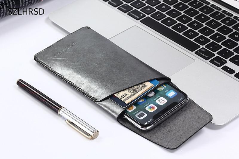 Ultra-thin Bag Super Slim Microfiber Leather Case Stitch Sleeve Pouch Cover for ASUS ZenFone 4 Pro Selfie AR Live max plus m1