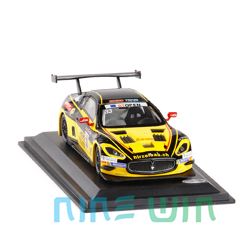 1/43 Scale Italy Maserati GT Mc GT3 2015 #33 Racing Car Diecast Metal Car Model Toy Collection For Kids Gift Original Box