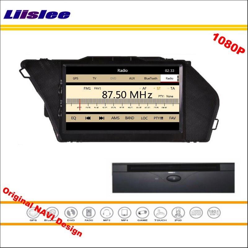 Liislee pour Mercedes Benz GLK X204 2013 ~ 2014 autoradio lecteur CD DVD Navigation GPS 1080 P système d'écran HD conception originale NAVI