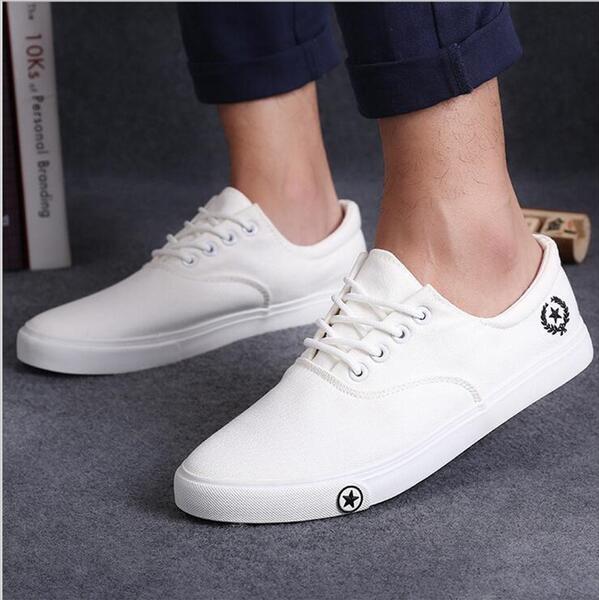 2017 nuevos Mens zapatos ocasionales del hombre pisos transpirable Para Hombre d