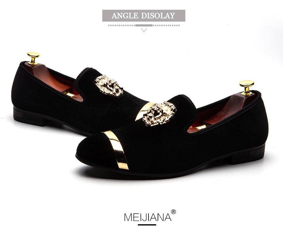 HTB1fzF7X.LrK1Rjy0Fjq6zYXFXac MEIJIANA New Big Size Men's Loafers Slip on Men Leather Shoes Luxury Casual Fashion Trend Brand Men's Shoes Wedding Shoes