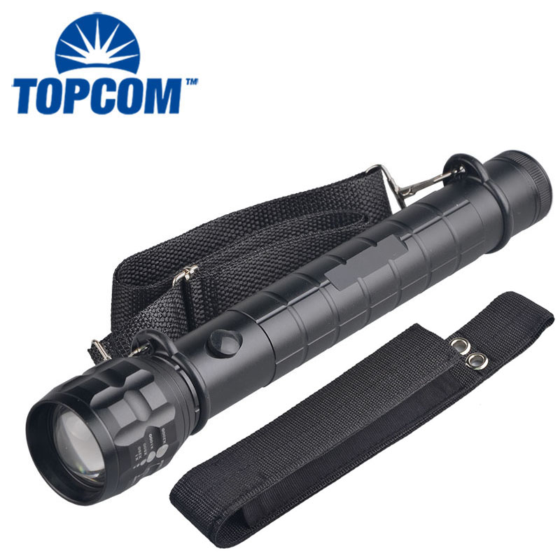 [Free ship] 3-Cell D Explosion-Proof flashlight Elite Heavy Duty Outdoor Survival Emergency Hunting Flashlight For Photography solar power explosion proof flashlight