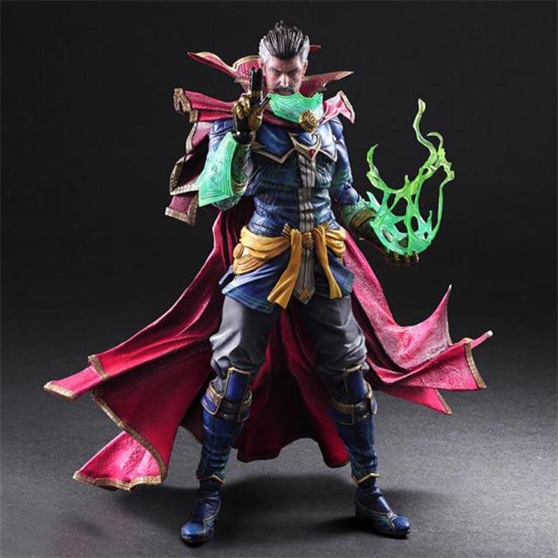 Marvel Figure Doctor Strange Avengers Infinity War Collectible Model Toys 25cm