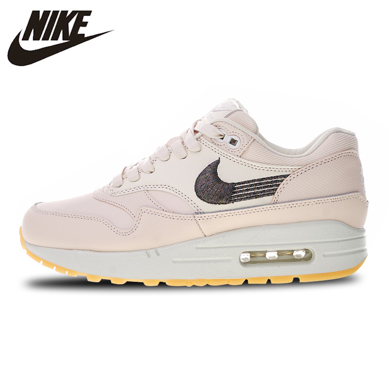 US $58.8 40% OFF|Nike Air Max 1 Prm Sports Sneakers Running Shoes Classics Outdoor 454746 800 for Women 36 39 in Running Shoes from Sports &
