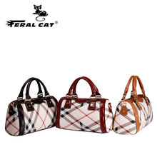 FERAL CAT Women Bag Purses and Handbags Luxury Shoulder Bags Female for carteras mujer de hombro y bolsos