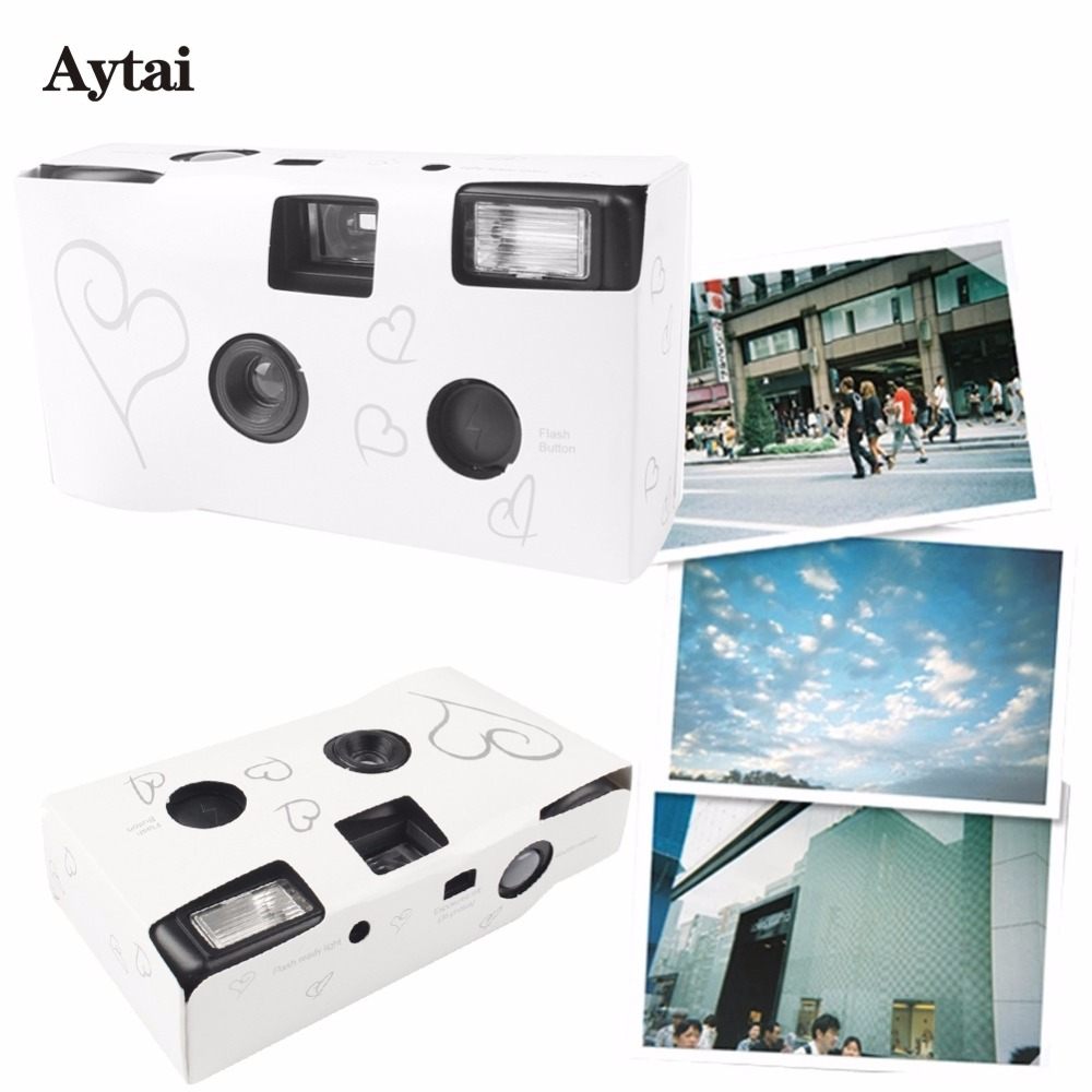 Disposable Camera Wedding Idea: Aytai 10pcs Wedding Centerpieces Heart Disposable Cameras