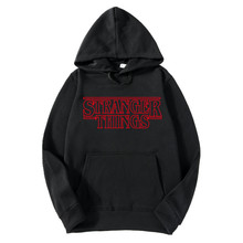 New StrangerThings fashion ladies hooded pullover winter casual sports hoodie
