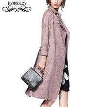 Casaco Feminino 2017 Autumn women jacket Latest Solid color High quality Large size Top Coat Stylish Elegant Clothing LJ197
