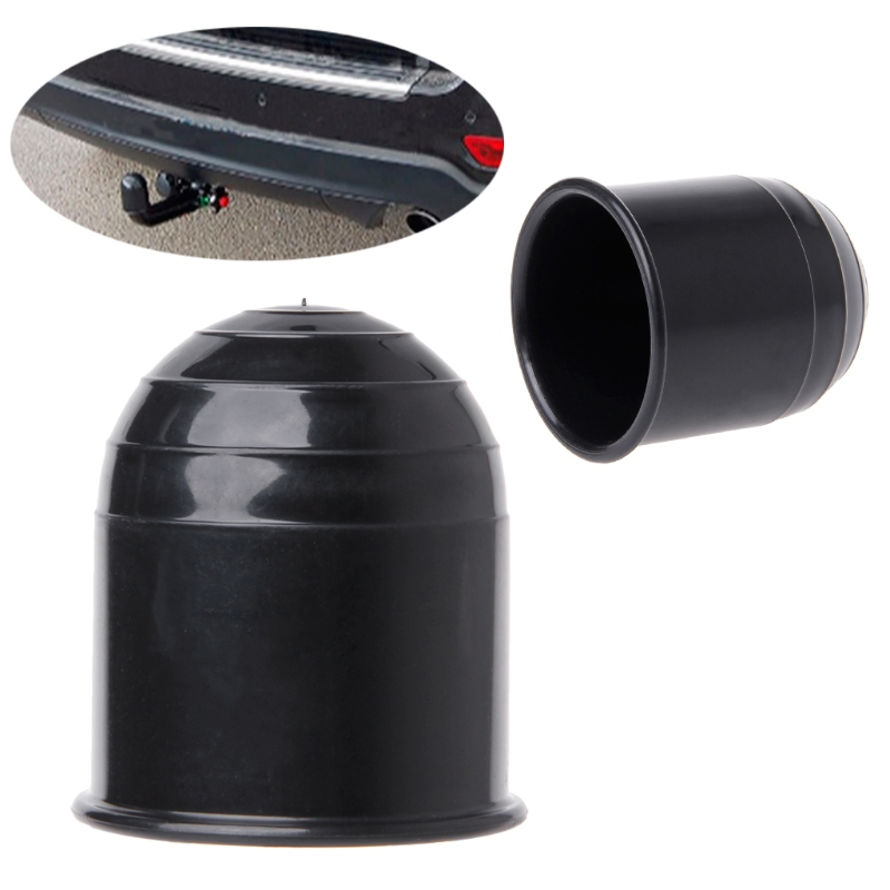 New 1 Pc Universal 50MM Auto Tow Bar Ball Cover Cap Hitch Caravan Trailer Towball Protect Case High Quality