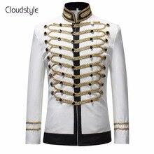 Cloudstyle 2018 chaqueta de traje de un solo pecho para hombre c0b4380ad3f
