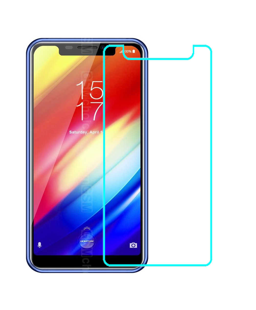 Tempered Glass Film FOR HomTom H10  Screen Protector Premium Scratch-proof Protective Front Glass Film