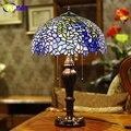 Стеклянная настольная лампа FUMAT  винтажная Роскошная настольная лампа в европейском стиле  для гостиной  отеля  свадьбы  светодиодный Декор ...