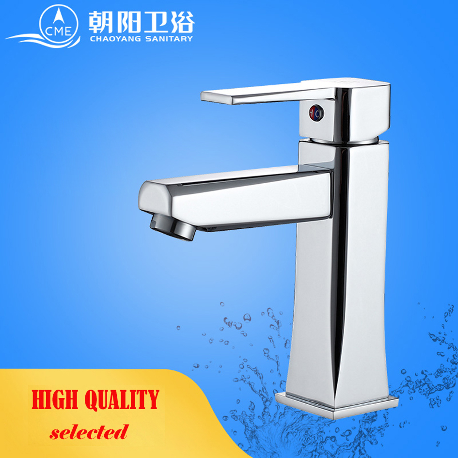 CME ceramic plate spool bathroom faucet deck mounted basin faucet hot and cold water mixer polished chrome basin tap L179CME ceramic plate spool bathroom faucet deck mounted basin faucet hot and cold water mixer polished chrome basin tap L179
