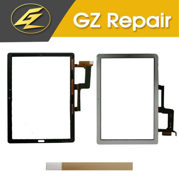 10.1 For Huawei MediaPad M5 Lite 10 BAH2 L09 BAH2 L09C Bach2 L09C Touch Screen Digitizer Lens Glass Black White Gold With Tape