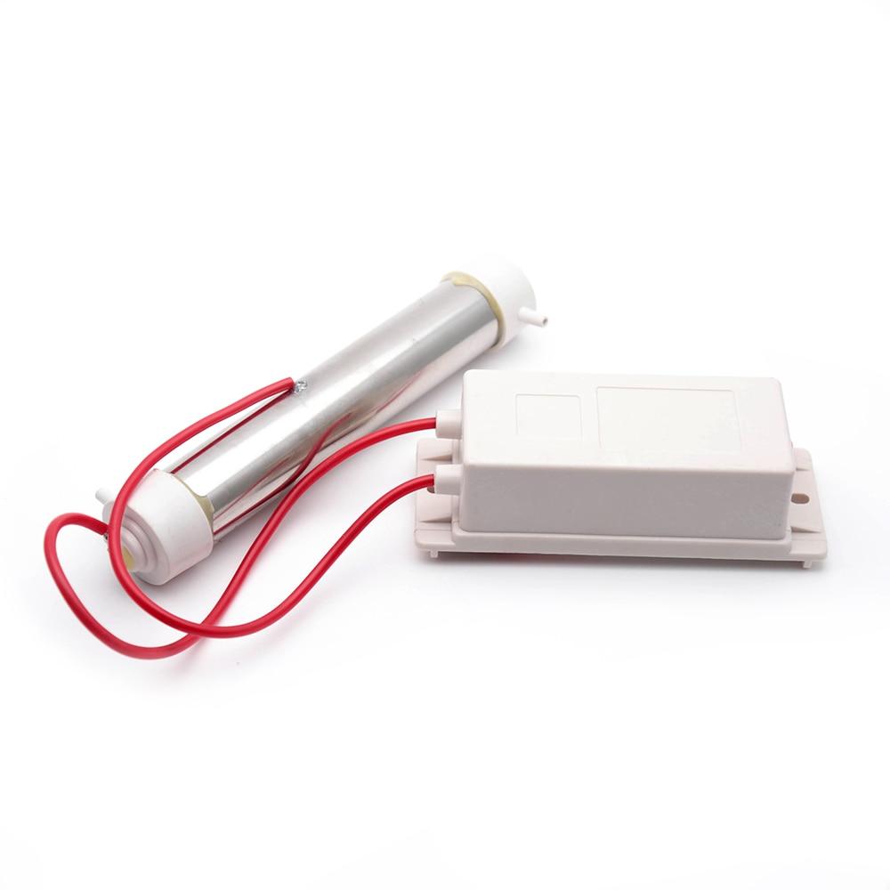 220V White Quartz Tube Ozone Generator For Water Air Purifier Sterilizer Cleaner220V White Quartz Tube Ozone Generator For Water Air Purifier Sterilizer Cleaner