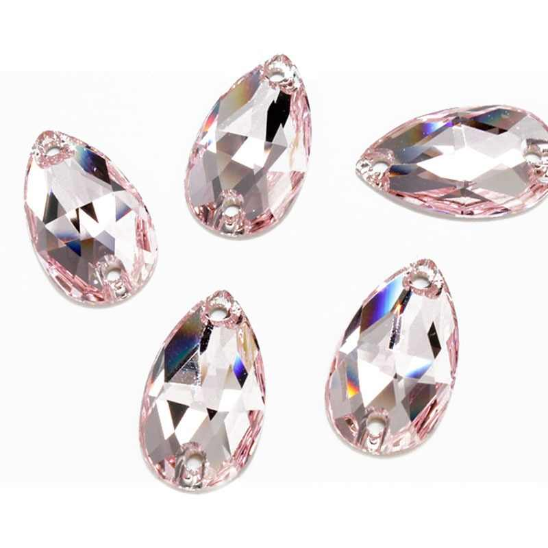 f5b1e24a20 Detail Feedback Questions about Rivoli Drop Sew On Crystal Clear ...