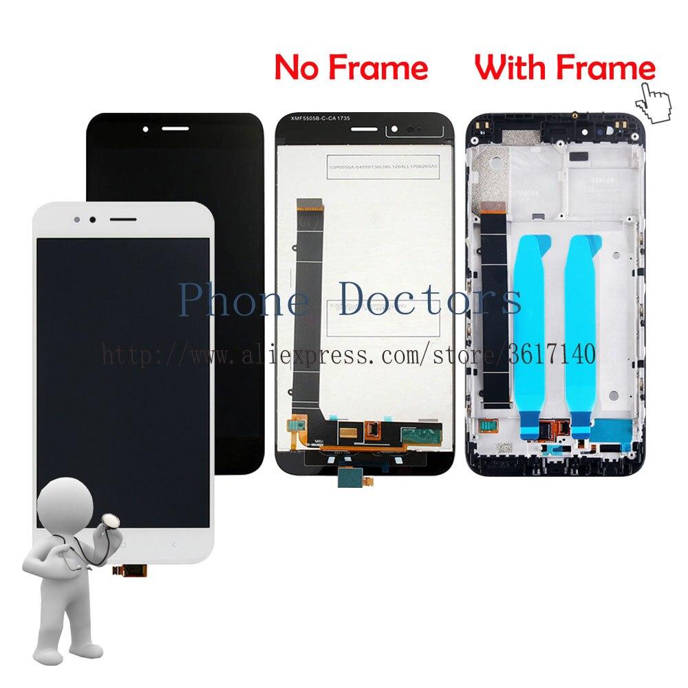 5,5 \'\'Neue Touchscreen Digitizer Glas + Lcd Anzeige + Rahmen ...