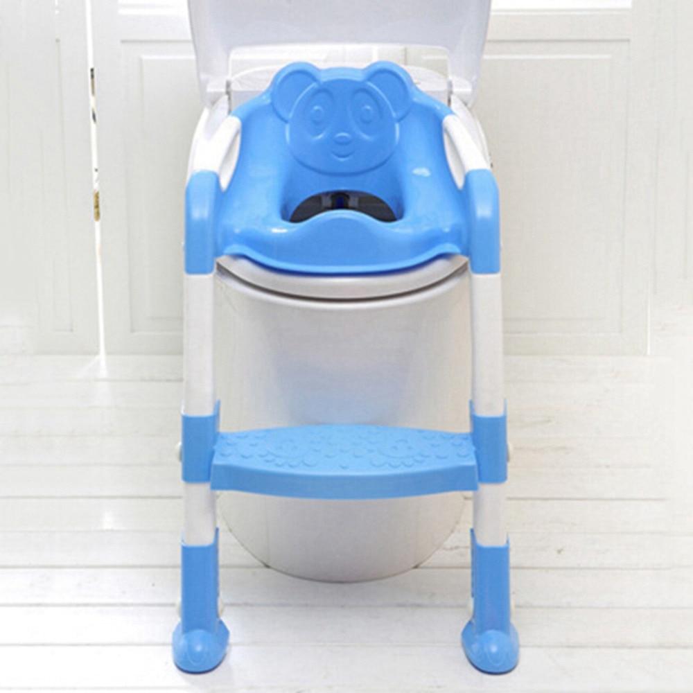 Bebé plegable Potty Training Asiento de inodoro asiento de inodoro - Pañales y entrenamiento para ir al baño - foto 3