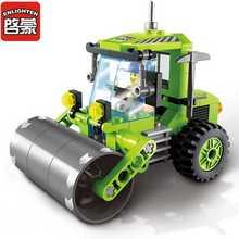 ENLIGHTEN Городские Инженерные Автомобилей Блоки Игрушки для Детей Дети Собранные Блоки Игрушки Подарок Автомобиль Игрушки Блоки для Мальчиков Kids1104
