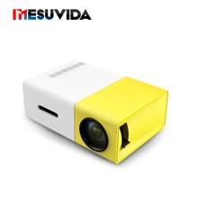 [Genuine] Original YG300 LED Portable Projector 500LM 3.5mm Audio 320x240 Pixel HDMI USB Mini YG-300 Projector Home Media Player