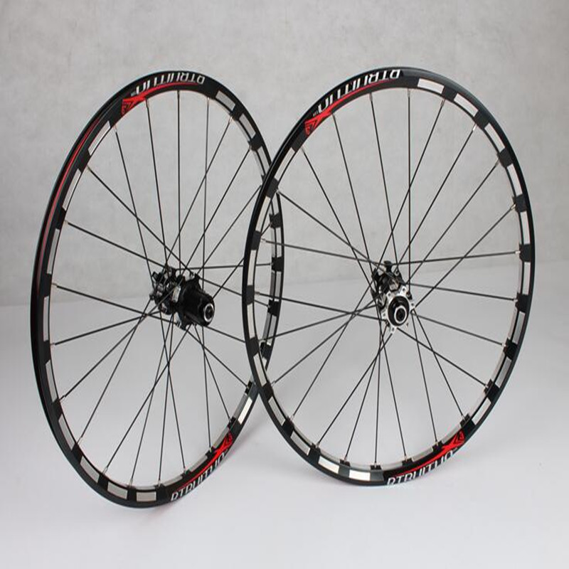 MEROCA <font><b>RT</b></font> 20inch *1-3/8 disc brake 5 Peilin sealed bearing ultra smooth/ light CNC Milling 451/406 wheels <font><b>wheelset</b></font> Rim 100/135 image