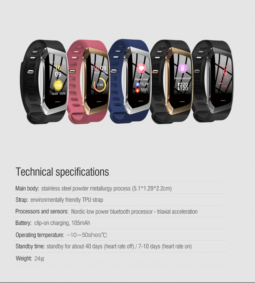 HTB1fzJ7BZyYBuNkSnfoq6AWgVXaz Vwar Smart Band IP67 Waterproof Wristband Blood Pressure Fitness Smart Bracelet Heart Rate Monitor Sport Fitness Bracelet Tracker smartband Mi fit 4 3 activity fitness tracker for Xiaomi Huawei Honor Android IOS Phone