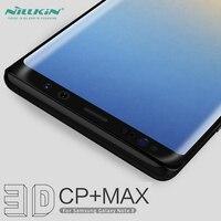 3dカバースクリーンプロテクター用ギャラクシー注8強化ガラスnillkin 3d cp +マックスフルカバレッジフィルム三星銀河注8注8