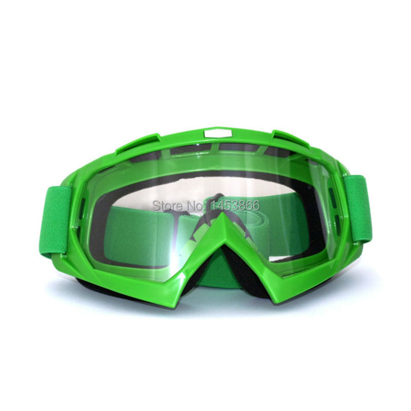 Green Professional Adult motocross dirt bike ATV motorcycle ski goggles glasses moto goggle