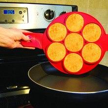 Блинница антипригарная флиппин блинница для блинов формы для блинов листать Фантастическая Флиппер форма для кухни аксессуары для выпечки