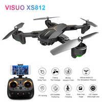 Eachine VISUO XS812 GPS 5G WiFi FPV w/2MP/5MP HD caméra 15 minutes temps de vol pliable Drone RC quadrirotor RTF enfants cadeau de naissance