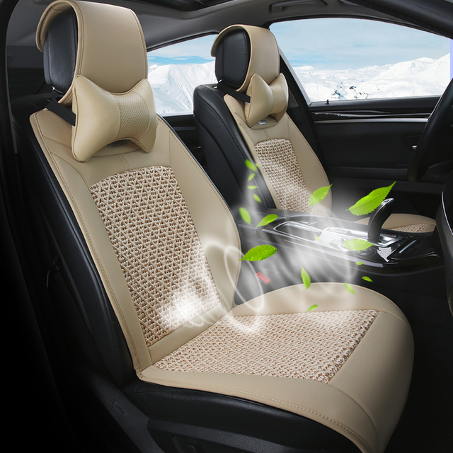 Summer With Fan Liangdian Seat Cover Vest Car Cool Cooling Ventilation Air Cushion Hair