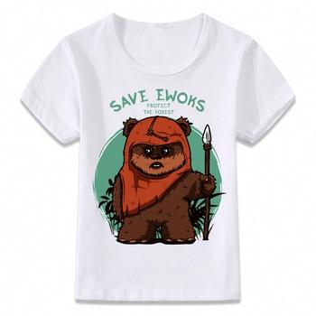 T-shirt Enfants Star Sauvez les Ewoks Unisexe