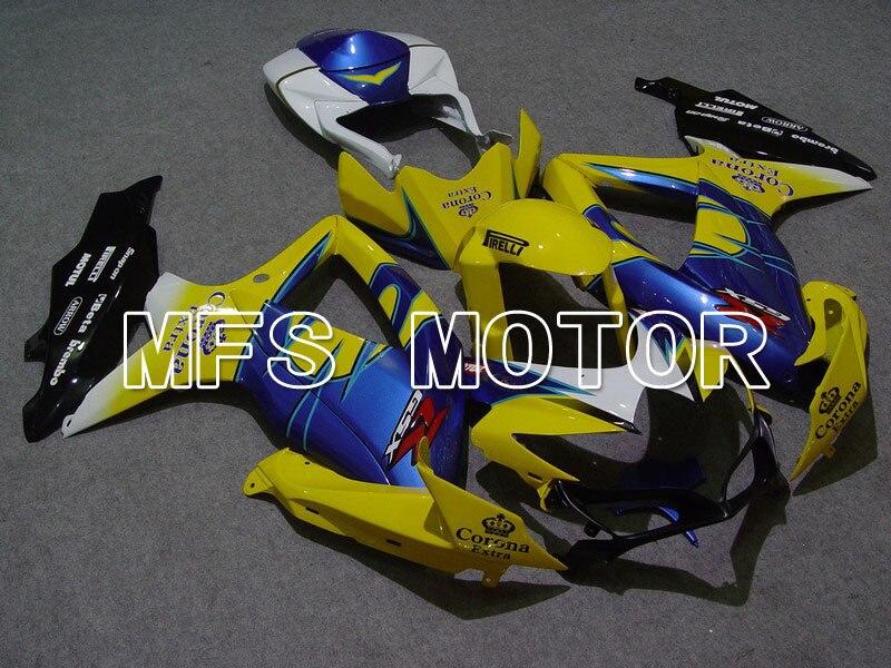 2008-2010 для Suzuki GSXR 600/750 К8 инъекции ABS обтекатель - Корона - желтый/черный/синий