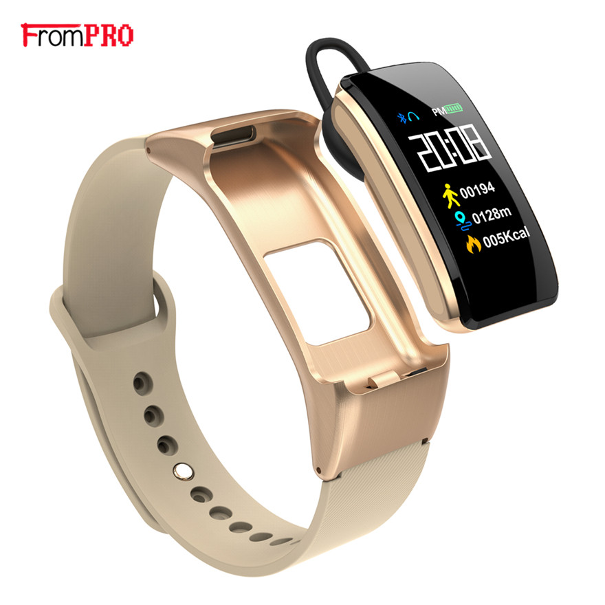Smart Bracelet Talkband B31 with Bluetooth Headset Smart Wristwatch Band Music Control Pedometer Sleep Monitor Smartband Watch