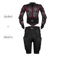 Free ShippingHEROBIKER Motorcycle Motocross Enduro ATV Racing Full Body Protective Gear Protector Armor Jacket Hip Pads
